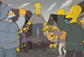 Los Simpson estrenan su temporada 29 con una parodia a 'Game of Thrones'