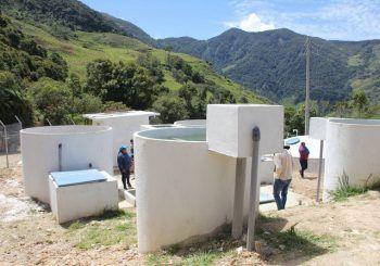 Parroquia Rivera con nuevo sistema de agua potable