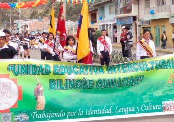 Instituto Bilingüe Quilloac a 37 años de creación