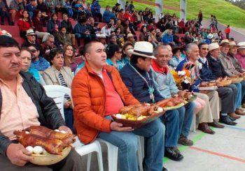 """""""Tayta Carnaval"""" tradición que cobra fuerza en Biblián"""