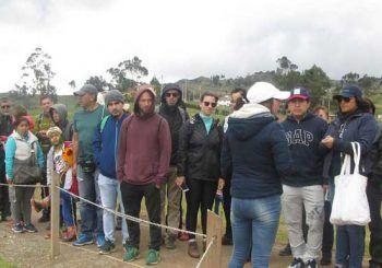 Gran afluencia de turistas en Complejo Arqueológico de Ingapirca