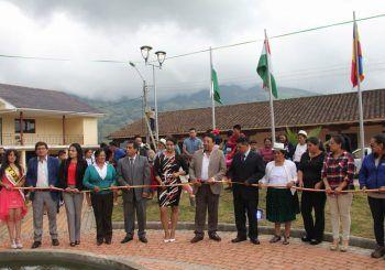 Alcalde de Azogues resalta obras en favor de Pindilig