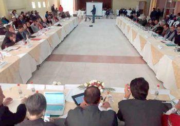 Gabinete provincial y autoridades nacionales sesionaron en El Tambo