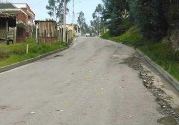 Vía en Guapán requieren de atención inmediata