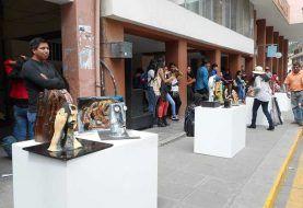 Artistas exhibieron su arte