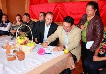 Municipio inicia obras en la vía Aguilán