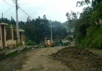 Reconstruirán vía San Roque - Nazón