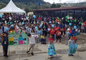 Marcha contra el acoso escolar