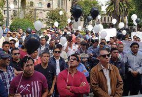 Taxistas protestan contra inseguridad