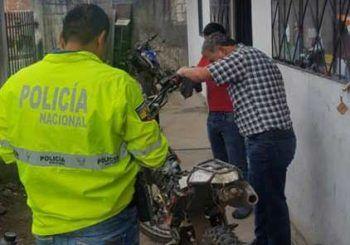 Policía realizó operativos a cachinerías